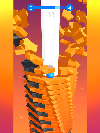 Stack Ball - Blast through platforms apkslow screenshots 21