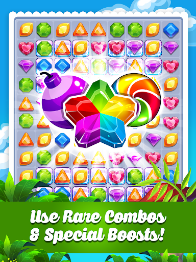 Addictive Gem Match 3 - Free Games With Bonuses  screenshots 17