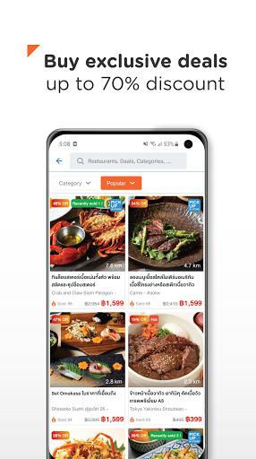 Wongnai: Restaurants & Reviews apktram screenshots 4