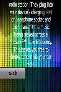 FM Transmitter Radio for car 1.1 Screenshots 5