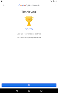 Google Opinion Rewards Screenshot