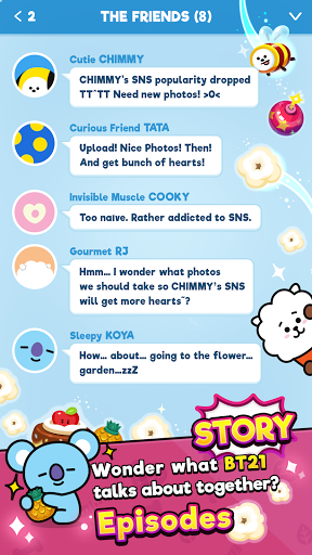 BT21 POP STAR modavailable screenshots 5