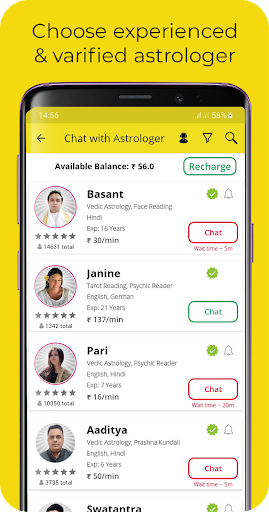 AstroTalk - Astrology Predictions by Astrologers screenshots 2