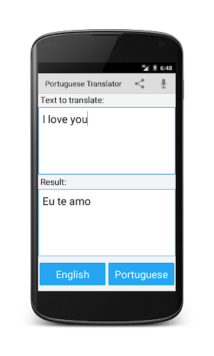 Portuguese English Translator  Screenshots 3