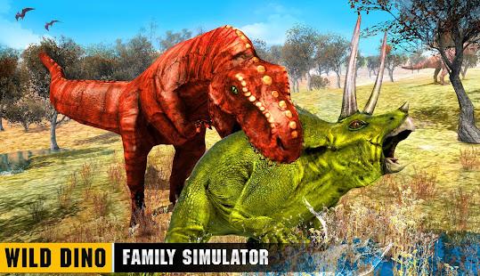 Wild Dino Family Simulator: Dinosaur Games 1.0.15 Screenshots 12