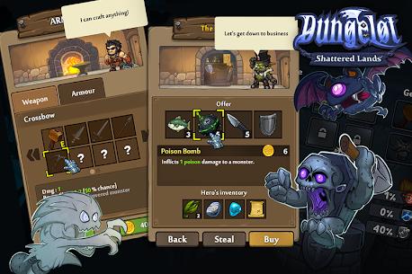 Dungelot Shattered Lands 1.373 Mod APK Download 2