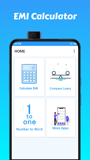 Emi calculator for personal loan  screenshots 1