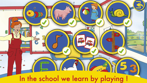 A Day with Caillou apkdebit screenshots 11