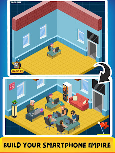 Smartphone Tycoon - Idle Phone Clicker & Tap Games 2.0 screenshots 1