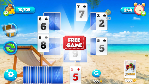 Solitaire TriPeaks Free Card Games  screenshots 9