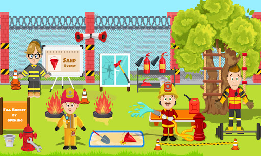 Code Triche feindre jeu ville Feu station: secours sim APK MOD Astuce screenshots 5