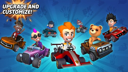 Boom Karts – Multiplayer Kart Racing Mod Apk 1.7.0 (All Cars Are Open) 3