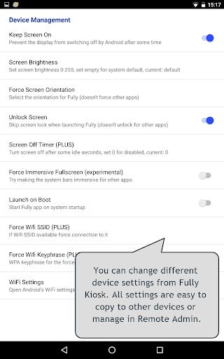 Fully Kiosk Browser & App Lockdown 1.42.4 Screenshots 21