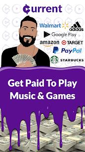 كسب المكافآت النقدية: تشغيل الموسيقى! كسب المال! للاندرويد apk 1