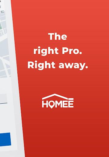 HOMEE: 24/7 Handyman, Plumber, Electrician & HVAC 6.0.1 Screenshots 16