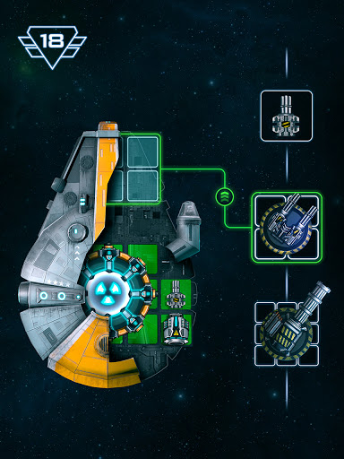 Space Arena: Spaceship game - Build & Fight android2mod screenshots 9