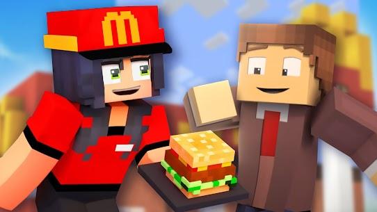 Fast Food Restaurant Mod for Minecraft Apk 1