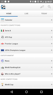 Football Live Scores 1900.0 Screenshots 1