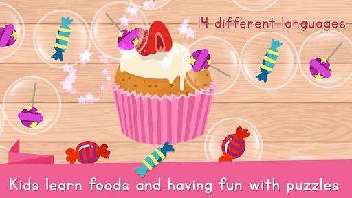 Food Puzzle for Kids: Preschool  screenshots 4