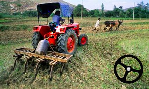Tractor Trolley Cargo Farming Simulator Cart Drive screenshots 1