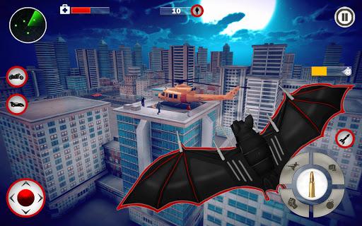 Flying Bat Robot Games: Superhero New Game 2021 screenshots 11