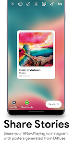 Diffuse – Apple Music Live Wallpaper 📀 (MOD APK, Paid) v0.9.1.0 4