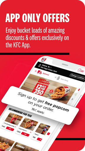 KFC Online Order and Food Delivery 5.2 Screenshots 2
