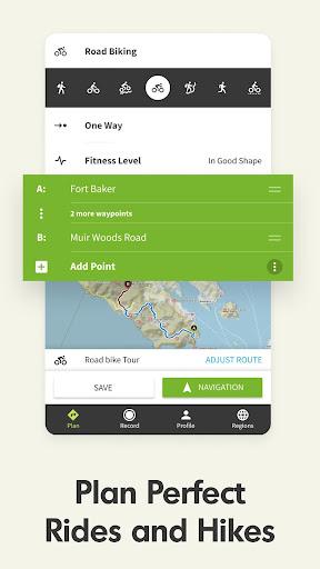 Komoot u2014 Cycling, Hiking & Mountain Biking Maps 10.21.15 Screenshots 1