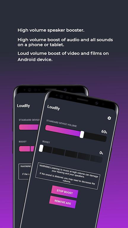 Loudly - Louder Volume Amplifier & Speaker Booster  poster 2