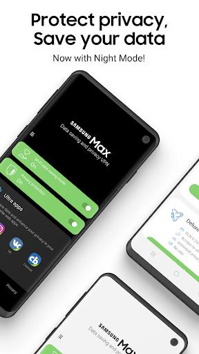 Samsung Max - Data Savings & Privacy Protection 4.1.43 Screenshots 1