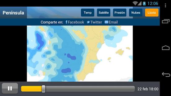 Tiempo y Temperatura 1.2.4 Screenshots 5