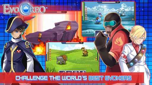 EvoCreo - Free: Pocket Monster Like Games  Screenshots 10