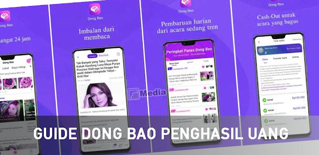 Image For Dong Bao App Penghasil Uang Terbaru Guide Versi 1.0 1
