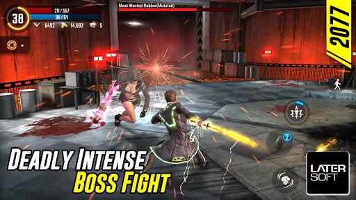 Cyber War: Cyberpunk Reborn (Offline ARPG) screenshots 1