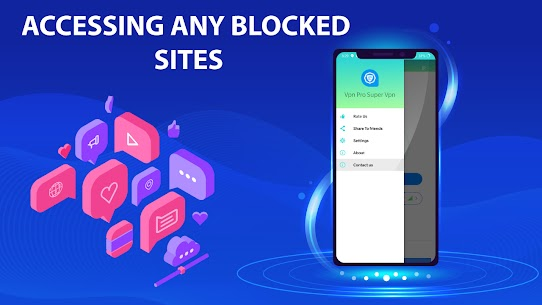 VPN Pro: Super VPN Fast Proxy Servers For Android 5