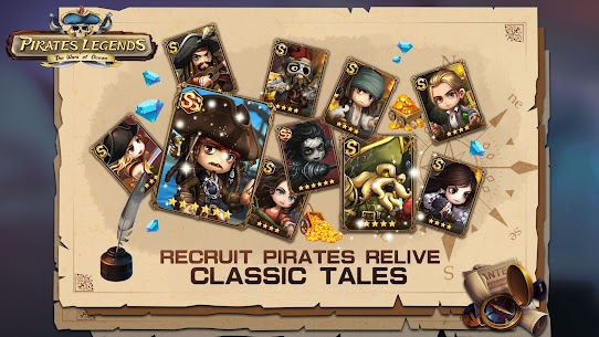 Pirates Legends-The War of Ocean Mod Apk (Stats Equip x20) 1