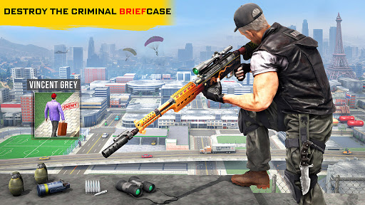 New Sniper Shooter: Free Offline 3D Shooting Games  Paidproapk.com 2