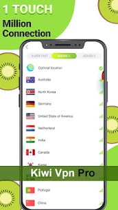 Kiwi VPN Pro – VPN connection proxy changer MOD (Paid) 2