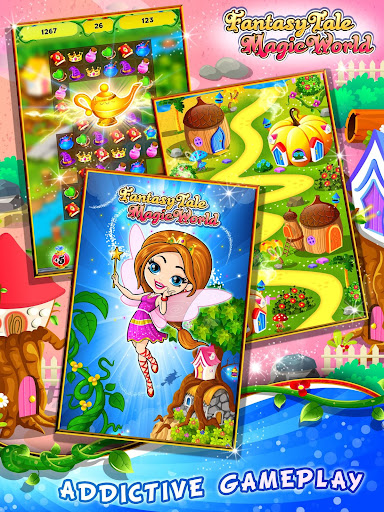 Fairy Tale ud83cudf1f Match 3 Games apkpoly screenshots 14