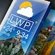 Weather Live Wallpapers. Previsão atual na tela para PC Windows