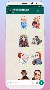 ✅ GOT Sticker Maker For WAStickerApps Screenshot
