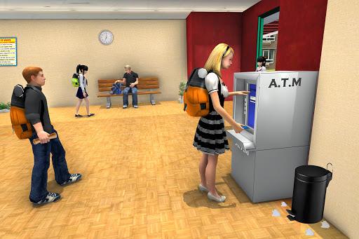 Virtual School Girl Simulator: High School Game apktram screenshots 4