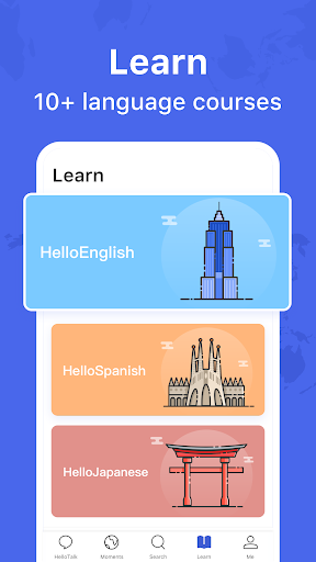 HelloTalk - Chat, Speak & Learn Languages for Free  screenshots 5