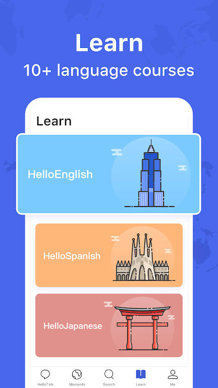 HelloTalk - Chat, Speak & Learn Languages for Free poster 4