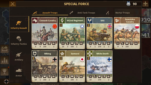 Glory of Generals 3 - WW2 Strategy Game  screenshots 14
