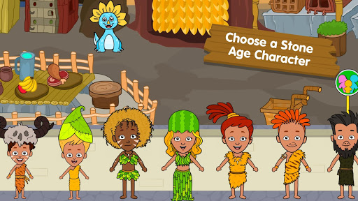 My Dinosaur Town - Jurassic Caveman Games for Kids 3.3 screenshots 3