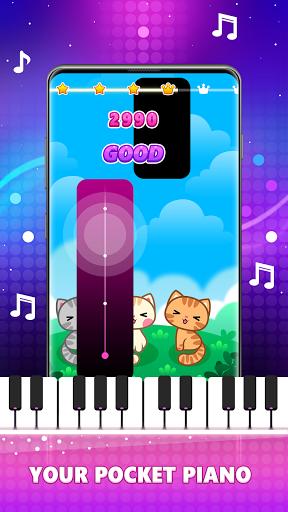 Magic Pink Tiles: Piano Game Apkfinish screenshots 1