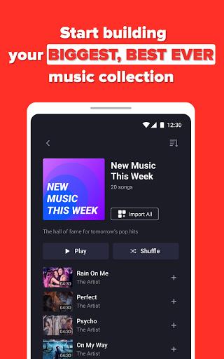 Free Music Streaming: Trending for Tube Music Song  screenshots 9