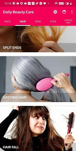 Daily Beauty Care - Skin, Hair, Face, Eyes  Screenshots 2