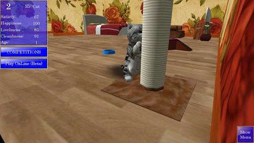Cute Pocket Cat 3D 1.2.2.6 Screenshots 4